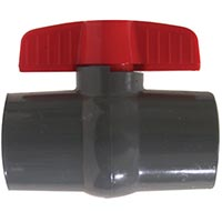 FIPxFIP Grey PVC Ball Valves