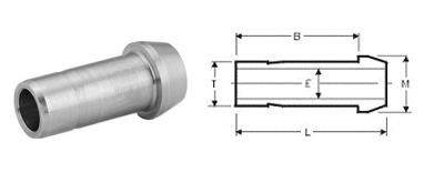 Stainless Steel Compression Fittings Dimensions